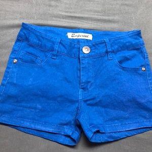 Blue Shorts size 3